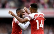 Những con số 'đáng sợ' về song sát của Arsenal