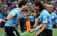 Cavani và Suarez: Song sát khét tiếng của La Celeste