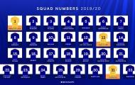 Chelsea công bố số áo, nhà vô địch Copa America lĩnh ấn tiên phong!