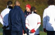 Cầu thủ Arsenal căng thẳng thấy rõ sau chuỗi trận bết bát