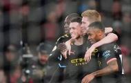 De Bruyne 'cân team', Man City hủy diệt Arsenal ngay tại Emirates
