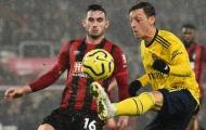 Điểm nhấn Bournemouth 1-1 Arsenal: Ozil hồi sinh; Dấu ấn của Arteta