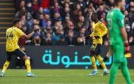 5 điểm nhấn Crystal Palace 1-1 Arsenal: Tấm thẻ đỏ tai hại; Những 'nòng pháo' ẩm ướt