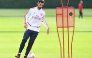 Tân binh Arsenal phô diễn ngay kỹ năng trong buổi tập đầu tiên