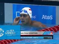 Phần thi giúp Trần Duy Khôi giành quyền vào chung kết 100m ngửa nam