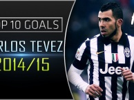 10 bàn thắng đẹp nhất của Carlos Tevez cho Juventus