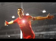 Luis Suarez thời còn chơi cho Liverpool