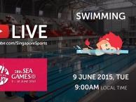 Trực tiếp SEA Games 28 ngày 9/6: Môn bơi lội (vòng loại)