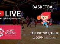 Trực tiếp SEA Games 28 ngày 11/6: Môn bóng rổ nữ (Việt Nam vs Indonesia)