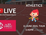 Trực tiếp SEA Games 28 ngày 11/6: Môn điền kinh (chung kết)