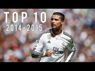 10 pha múa bóng đẹp nhất của Cristiano Ronaldo mùa 2014/15