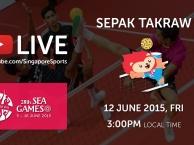 Trực tiếp SEA Games 28 ngày 12/6: Môn cầu mây (vòng bảng)