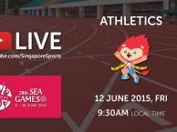 Trực tiếp SEA Games 28 ngày 12/6: Môn điền kinh (vòng loại)