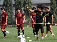 Buổi tập chiến thuật của U23 Việt Nam trước thềm bán kết
