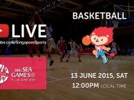 Trực tiếp SEA Games 28 ngày 13/6: Môn bóng rổ nam (Việt Nam vs Campuchia)