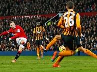 Cú poker của Wayne Rooney vào lưới Hull City