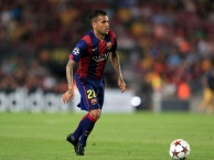 Dani Alves một thời tung hoàng tại Barcelona