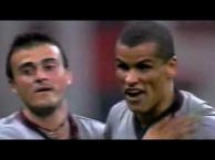 Trận cầu kinh điển: AC Milan 3-3 Barcelona (2000/2001)