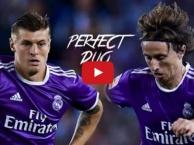 Toni Kroos & Luka Modric - cặp tiền vệ trung tâm hoàn hảo