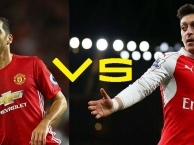 Khi Mesut Oezil đọ tài Henrikh Mkhitaryan