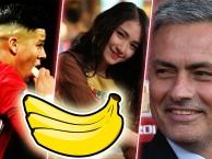 Tiết lộ lý do Rojo ăn chuối của Mourinho