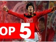 Top 5 điều thú vị về Park Ji Sung ở Man United