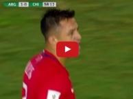 Màn trình diễn của Alexis Sanchez vs Argentina