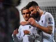 Luxembourg 1-3 Pháp (vòng loại World Cup 2018)