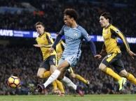 Leroy Sane làm khổ hàng thủ Arsenal đến mức nào?