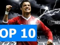 Top 10 bàn thắng của Ronaldo tại Man United