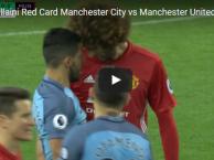 Tình huống dẫn đến chiếc thẻ đỏ của Fellaini