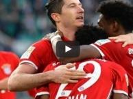 Wolfsburg 0-6 Bayern Munich (vòng 31 Bundesliga)