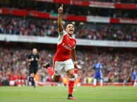 Trận cầu kinh điển, Arsenal 3-0 Chelsea (lượt đi NHA 2016/17)