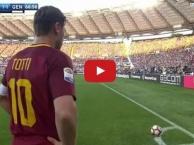 Trận đấu cuối cùng của Francesco Totti cho AS Roma