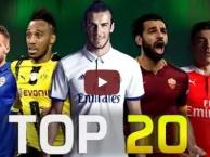 Top 20 'máy chạy' ở làng bóng đá thế giới hiện tại