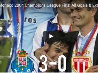 Trận cầu kinh điển: Porto 3-0 Monaco (Chung kết UCL 2004)