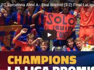 Đội trẻ Barca lại 'bán hành' cho Real trong trận chung kết