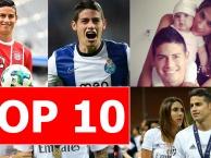 Top 10 bí mật thú vị về James Rodriguez