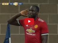 Màn trình diễn của Romelu Lukaku vs Manchester City