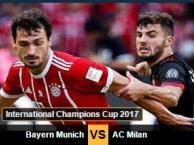Highlights: Bayern 0-4 Milan (Giao hữu)