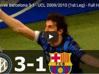 Trận cầu kinh điển: Inter Milan 3-0 Barcelona (UCL 2009/10)