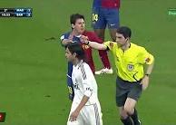 Tình huống Messi đẩy trọng tài trong quá khứ