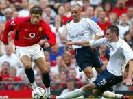 Trận đấu đầu tiên của Ronaldo trong màu áo M.U