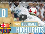 HIGHLIGHT: Real Madrid 2-0 Barcelona (Lượt về Siêu cúp TBN)