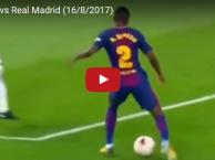 Màn trình diễn của Semedo trước Real Madrid