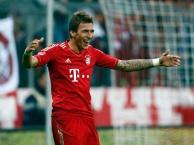 Mario Mandzukic khi còn khoác áo Bayern Munich