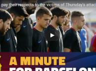Phút mặc niệm cho những nạn nhân xấu số ở Barcelona