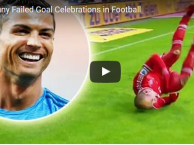 20 pha ăn mừng bàn thắng lỗi nhất mọi thời đại