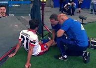 Pha ăn mừng khiến Nicolai Muller phải nghỉ thi đấu tới 7 tháng