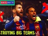 5 trận đấu Barca hủy diệt đối thủ tại Camp Nou
